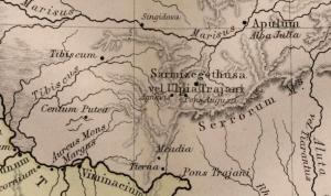 Harta veche a zonei Zavoi