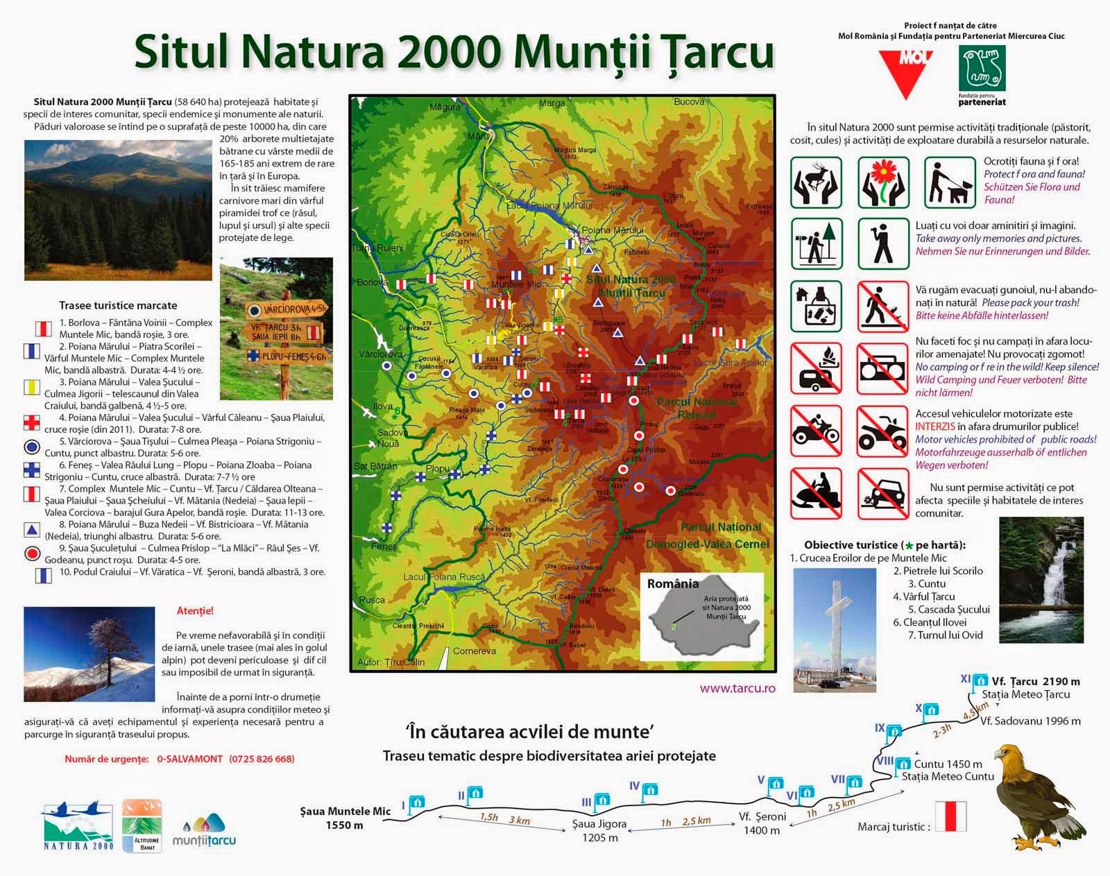 Tarcu_Sit Natura 2000